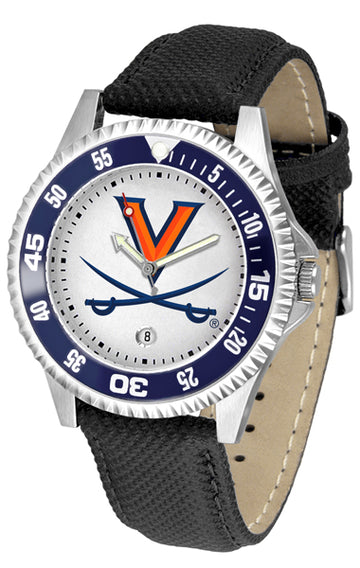 Virginia Cavaliers Competitor - Poly/Leather Band Watch
