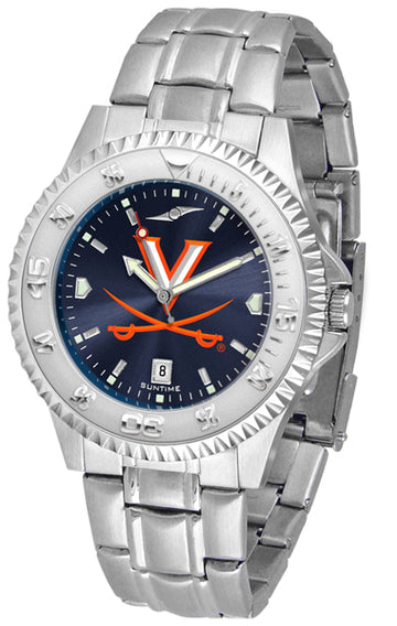 Virginia Cavaliers Competitor AnoChrome - Steel Band Watch