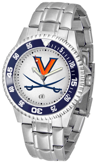 Virginia Cavaliers Competitor  - Steel Band Watch