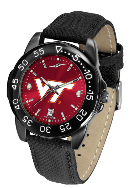Virginia Tech Hokies Men's Fantom Bandit AnoChrome Watch-Watch-Suntime-Top Notch Gift Shop