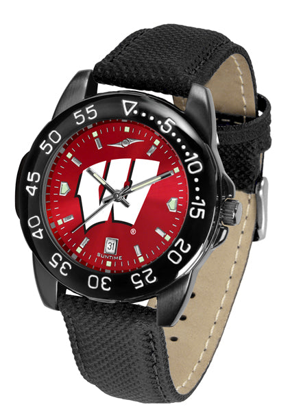 Wisconsin Badgers Men's Fantom Bandit AnoChrome Watch-Watch-Suntime-Top Notch Gift Shop