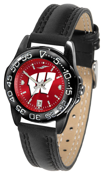 Wisconsin Badgers Ladies Fantom Bandit AnoChrome Watch
