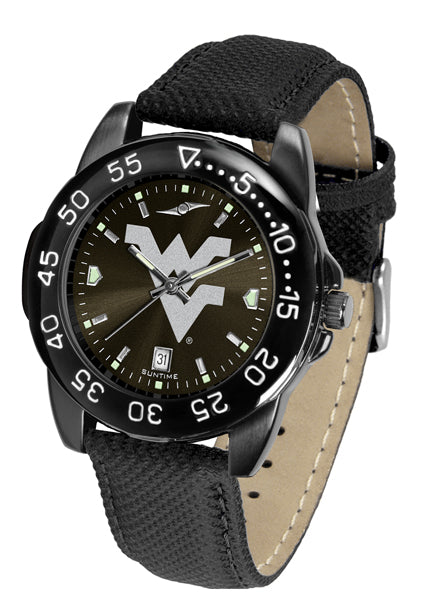 West Virginia Mountaineers Men's Fantom Bandit Watch-Watch-Suntime-Top Notch Gift Shop