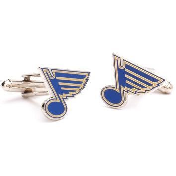 St. Louis Blues Cufflinks-Cufflinks-Cufflinks, Inc.-Top Notch Gift Shop