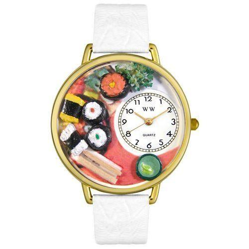 Sushi Watch in Gold (Large)-Watch-Whimsical Gifts-Top Notch Gift Shop