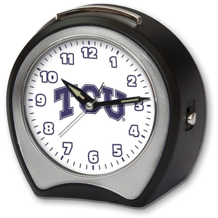 TCU Fight Song Alarm Clock Roman Top Notch Gift Shop