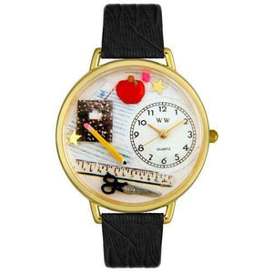 Teacher Watch in Gold (Large)-Watch-Whimsical Gifts-Top Notch Gift Shop
