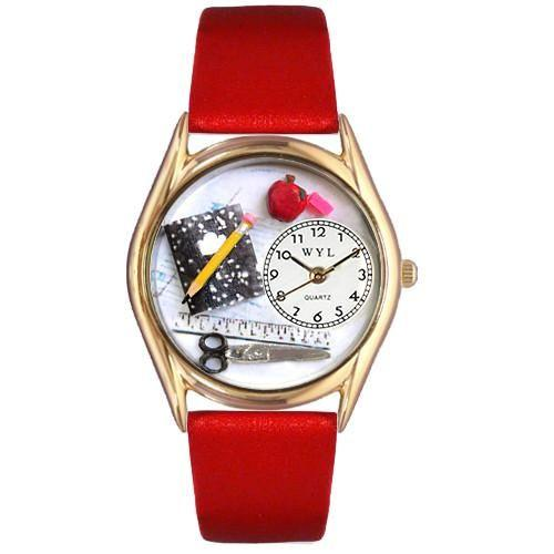 Teacher Watch Small Gold Style-Watch-Whimsical Gifts-Top Notch Gift Shop