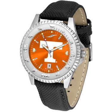Tennessee Volunteers Competitor AnoChrome - Poly/Leather Band Watch-Watch-Suntime-Top Notch Gift Shop