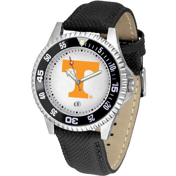 Tennessee Volunteers Competitor - Poly/Leather Band Watch-Watch-Suntime-Top Notch Gift Shop