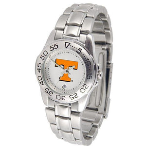 Tennessee Volunteers Ladies Steel Band Sports Watch-Watch-Suntime-Top Notch Gift Shop