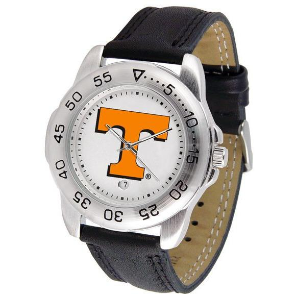 Tennessee Volunteers Mens Leather Band Sports Watch-Watch-Suntime-Top Notch Gift Shop