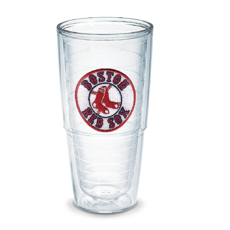 "Boston Red Sox ""Sox Emblem"" 24 oz. Tervis Tumblers - (Boxed Set of 2)-Tervis-Top Notch Gift Shop"