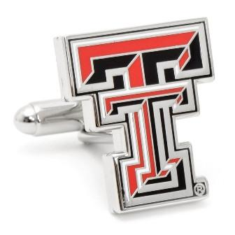 Texas Tech University Red Raiders Enamel Cufflinks-Cufflinks-Cufflinks, Inc.-Top Notch Gift Shop