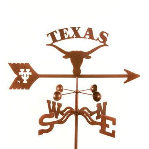 Texas University Weathervane-Weathervane-EZ Vane-Top Notch Gift Shop