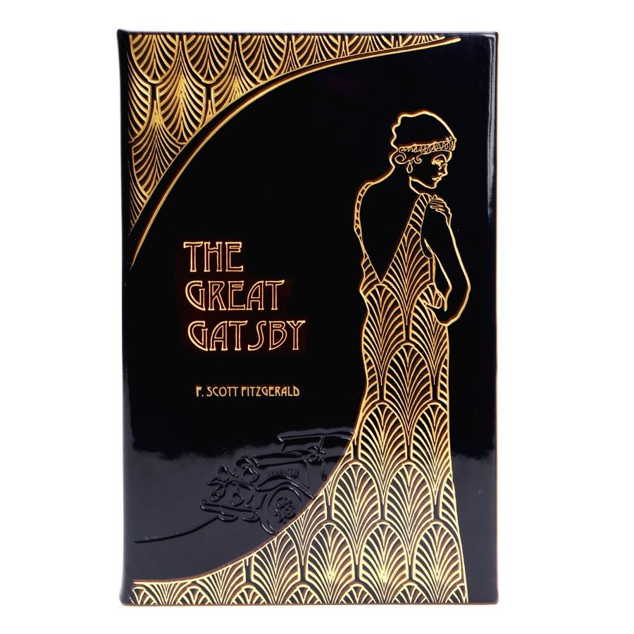 The Great Gatsby - Italian Metallic Patent Leather Bound Collector's Edition-Book-Graphic Image, Inc.-Top Notch Gift Shop