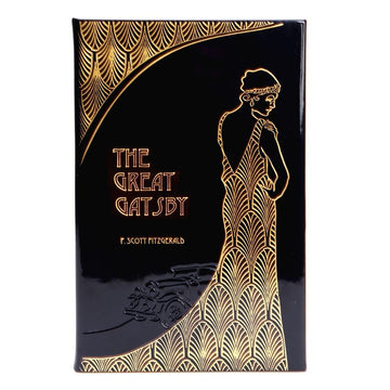 The Great Gatsby - Italian Metallic Patent Leather Bound Collector's Edition