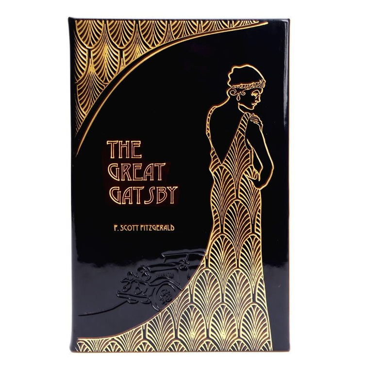 The Great Gatsby - Italian Metallic Patent Leather Bound Collector's Edition-Graphic Image, Inc.-Top Notch Gift Shop