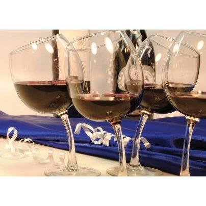 Tipsy Wine Glasses (Set of 2)-Wine Glass-Richard E. Bishop-Top Notch Gift Shop