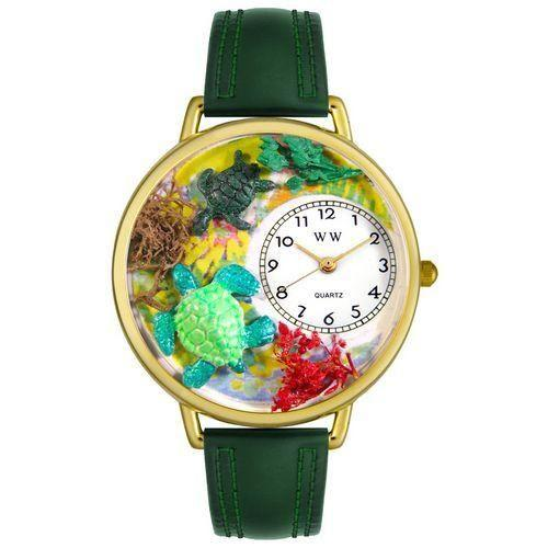 Turtles Watch in Gold (Large)-Watch-Whimsical Gifts-Top Notch Gift Shop