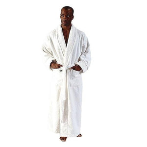 Ultra Men's Turkish Terrycloth Full Length Bathrobe-Bathrobe-ARUS-Top Notch Gift Shop