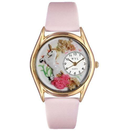 Unicorn Watch Small Gold Style-Watch-Whimsical Gifts-Top Notch Gift Shop