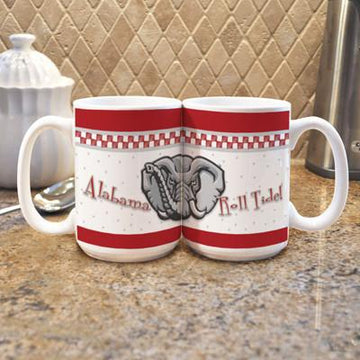 "University of Alabama ""Gameday"" Mug -  (Set of 2)"