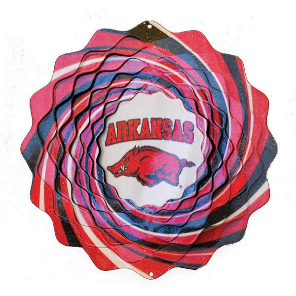 University of Arkansas Wind Spinner-Wind Spinner-Woodstream Corp.-Top Notch Gift Shop