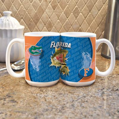"University of Florida ""Mascot"" Mug - (Set of 2)-Mug-Memory Company-Top Notch Gift Shop"