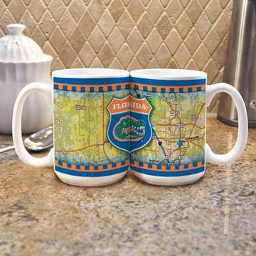 "University of Florida ""Road To"" Mug -  (Set of 2)"