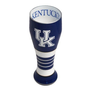 University of Kentucky Artisan Hand Painted Pilsner Glass-Pilsner Glass-Boelter Brands-Top Notch Gift Shop