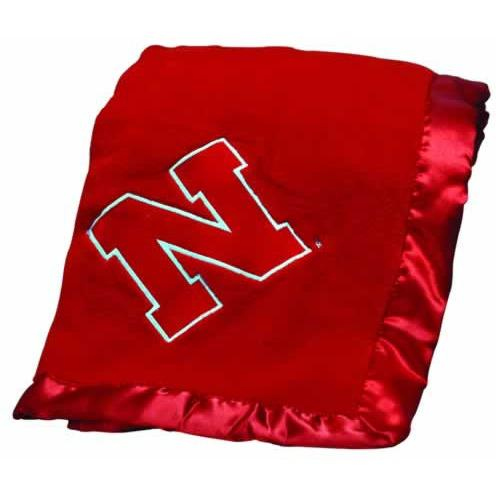 University of Nebraska Baby Blanket-Baby Blanket-Scene Weaver-Top Notch Gift Shop