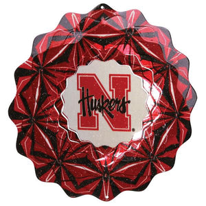 University of Nebraska Wind Spinner-Wind Spinner-Woodstream Corp.-Top Notch Gift Shop