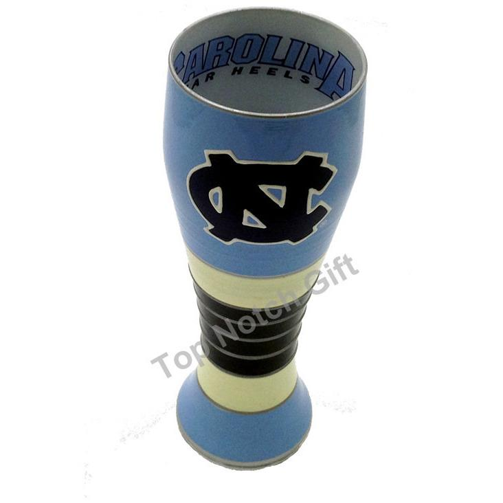University of North Carolina Artisan Hand Painted Pilsner Glass-Pilsner Glass-Boelter Brands-Top Notch Gift Shop