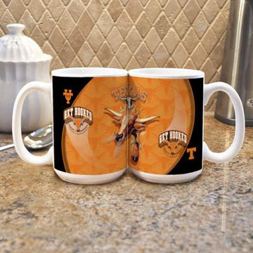 "University of Texas  ""Mascot"" Mug -  (Set of 2)"