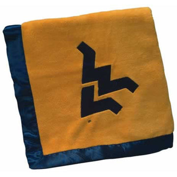 University of West Virginia Baby Blanket