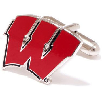 University of Wisconsin Badgers  Enamel  Cufflinks