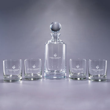 Uptown 5 Piece Bar Gift Set - Personalized