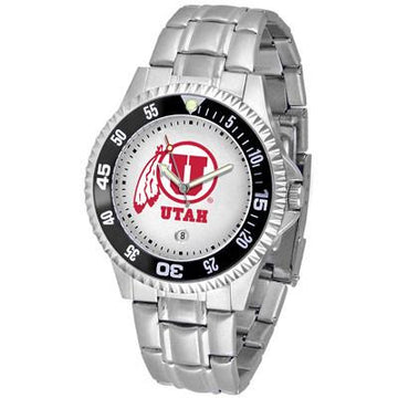 Utah Utes Competitor  - Steel Band Watch