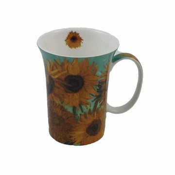 Van Gogh Set of 4 Bone China Mugs