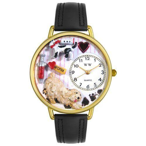 Veterinarian Watch in Gold (Large)-Watch-Whimsical Gifts-Top Notch Gift Shop