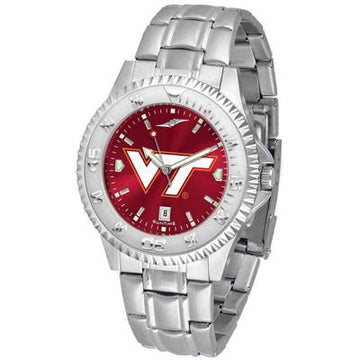 Virginia Tech Hokies Competitor AnoChrome - Steel Band Watch