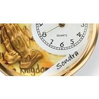 Angel with Harp Watch in Gold (Large)-Watch-Whimsical Gifts-Top Notch Gift Shop