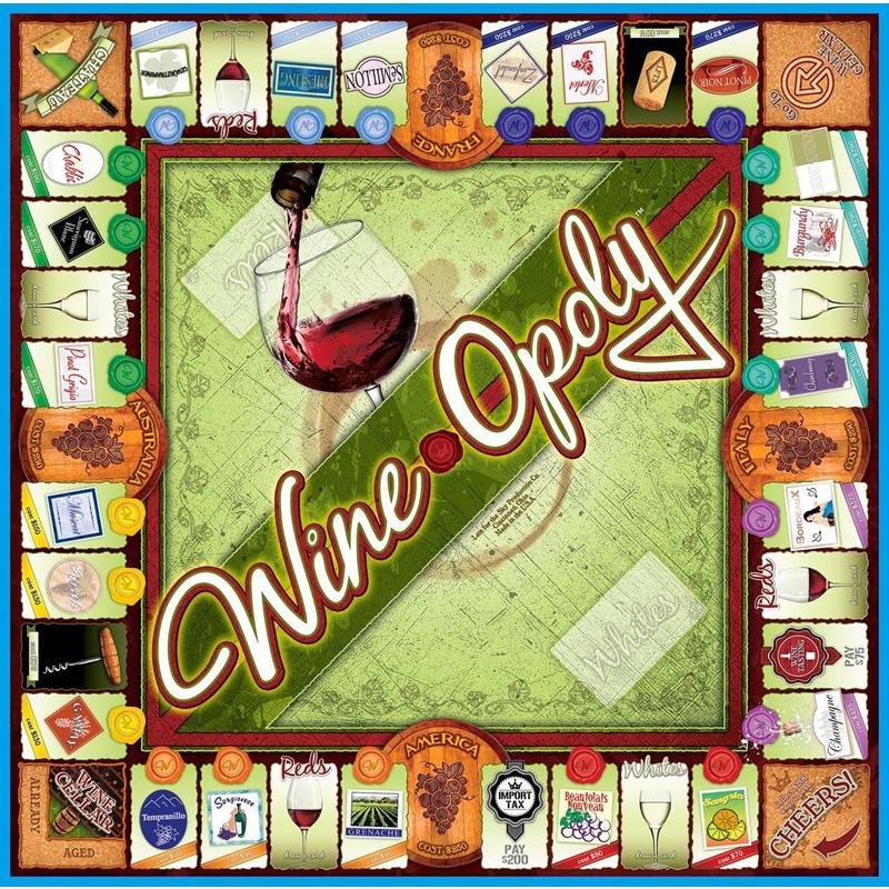 Wine-opoly Monopoly Game-Game-Late For The Sky-Top Notch Gift Shop
