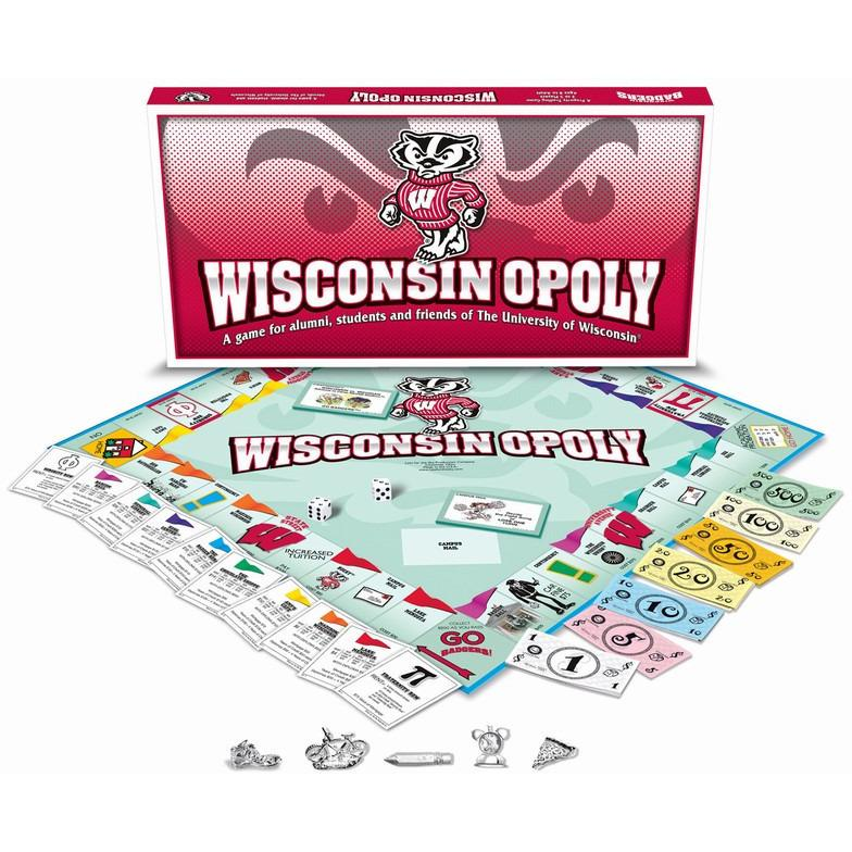 Wisconsin-opoly - University of Wisconsin Monopoly Game-Game-Late For The Sky-Top Notch Gift Shop