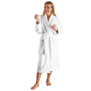 Women's Deluxe Turkish Terrycloth Bathrobe-Bathrobe-ARUS-Top Notch Gift Shop