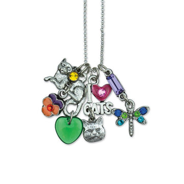 Love Cats Jumble Necklace