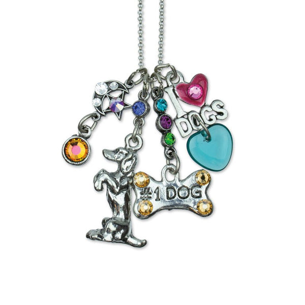 Good Doggie Jumble Necklace-Necklace-Anne Koplik Designs-Top Notch Gift Shop