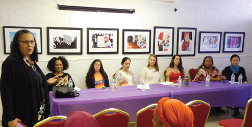 Seven Women:  An Intersectional Conversation about Justice