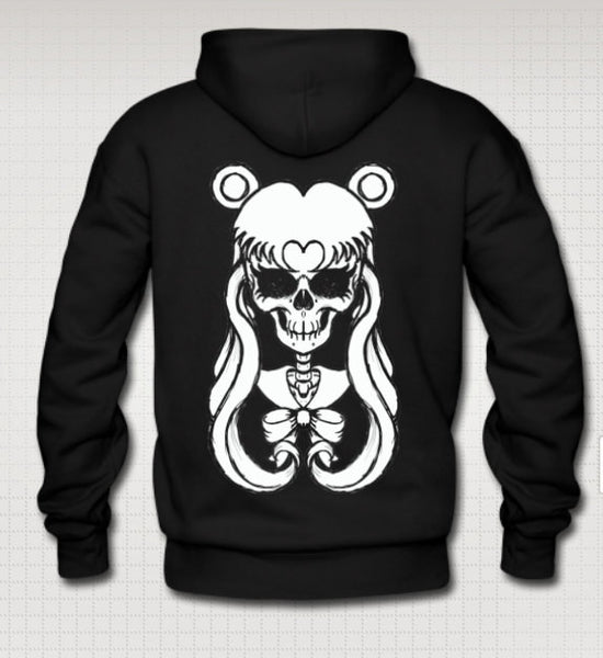 Sailor Moon Skull Pull over Hoodie